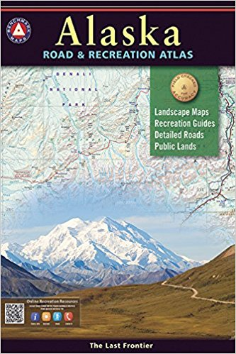 Alaska Benchmark Road and Recreation Atlas